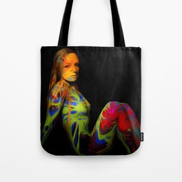 Paint Me Nude Tote Bag