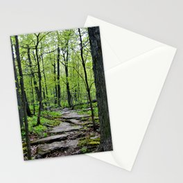 Lead and I will Follow You into the Woods by Reay of Light Stationery Cards