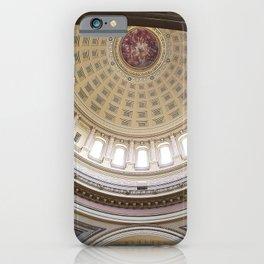 Wisconsin Capitol Building Rotunda 1 iPhone Case