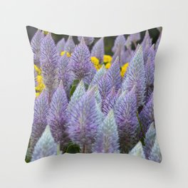 Australian Foxtail Flower Throw Pillow