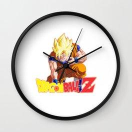 DragonBall Z Songoku Super Saiyan Wall Clock