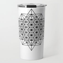 Star tetrahedron, sacred geometry, void theory Travel Mug