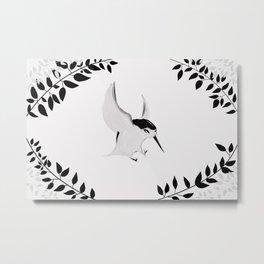 Hummingbird Reprise Metal Print