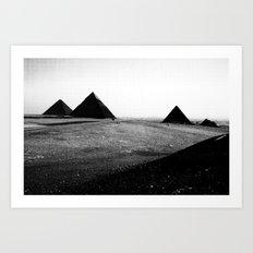 Egypt, Pyramids Art Print
