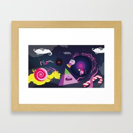CandyParty Framed Art Print