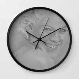 Pink II Wall Clock