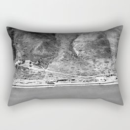 The hot springs. Western shore of Sea of Galilee Rectangular Pillow
