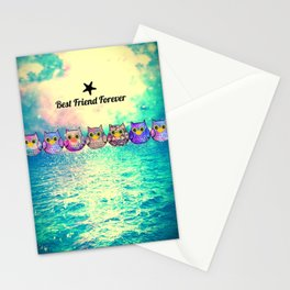 owl-155 Stationery Cards