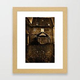 Cloister Framed Art Print