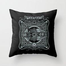 Intercept Throw Pillow