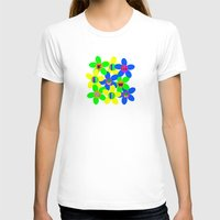 60s T-shirts featuring Flower Power 60s-70s by dedmanshootn
