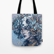 Night Cat Witch Tote Bag