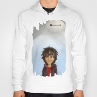 big hero 6 Hoodies featuring Big Hero 6 by MikakoskArts