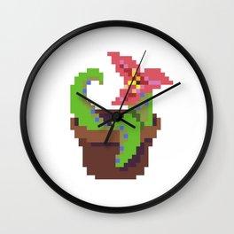 Tentacle Plant Wall Clock
