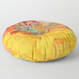Summer on Mykonos Floor Pillow
