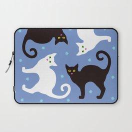 Cats Blue Laptop Sleeve