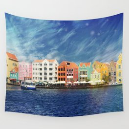 Willemstad, Curaçao Wall Tapestry