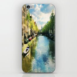 Amsterdam Waterways iPhone Skin