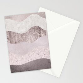 Abstract Wave Texture Stationery Cards