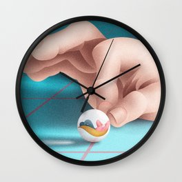 it doesn't depend on you Wall Clock