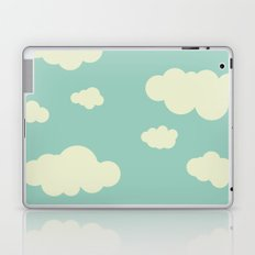 vintage clouds Laptop & iPad Skin