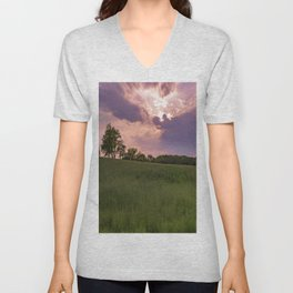 Sunbeam sunset Unisex V-Neck