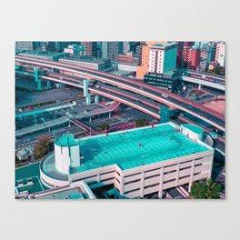KobeRoofTop Canvas Print