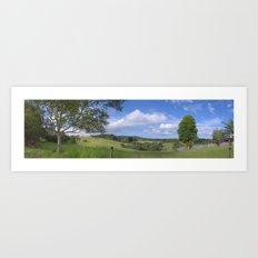 Kuranda Panorama Art Print