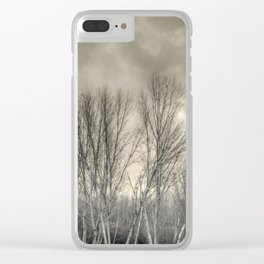The long winter #2 Clear iPhone Case