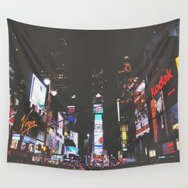 Evening Glow - Times Square Wall Tapestry