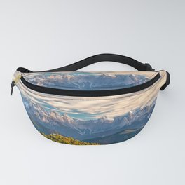 Mountains on the Background Fanny Pack