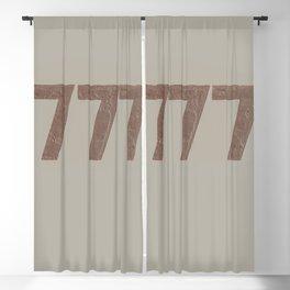 777 Blackout Curtain