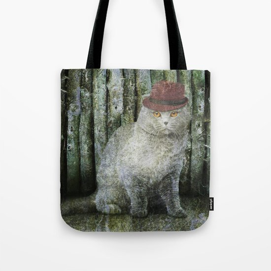 Detective Cat Tote Bag