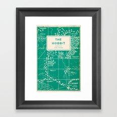 The Hobbit Framed Art Print