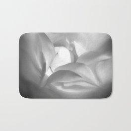 heart of opening rose Bath Mat