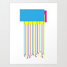 Feet I Art Print