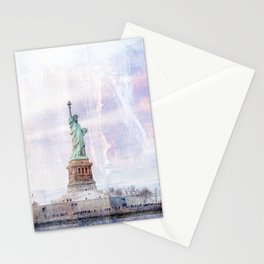 Statue of Liberty Art Stationery Cards