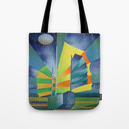 Junk By The Light Of The Silvery Moon Tote Bag