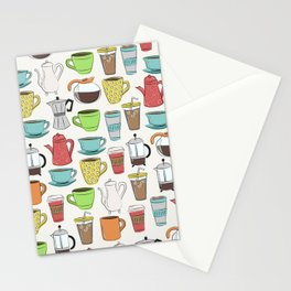 Coffee Lover Stationery Cards