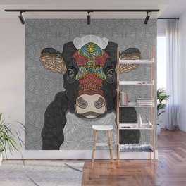 Bella the cow Wall Mural