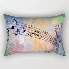 Abstract MUSIC Rectangular Pillow