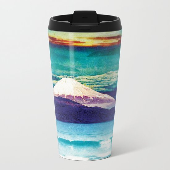 Living Rapture in Yeno Metal Travel Mug