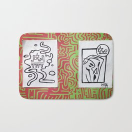 2 Cups Bath Mat