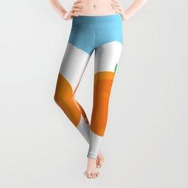 D.O. Orange Logo Leggings