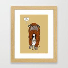 Ludo, Friend Framed Art Print