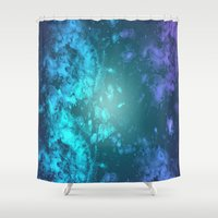 biology Shower Curtains featuring Biology by Ashley