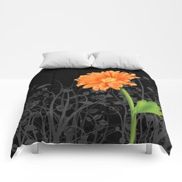 Gerbera Daisy #4 Comforters