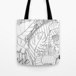 plant fresque Tote Bag