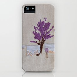 On the Line iPhone Case