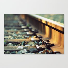 Jumping Someone Else's Train Canvas Print
